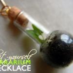 Terrarium Necklace Tutorial
