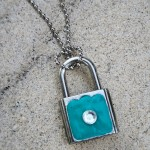 Tiffany Inspired Lock Necklace Tutorial