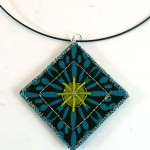 Quilted Necklace Pendant Tutorial