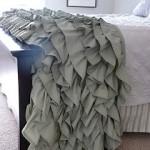Ruffled Throw Sewing Pattern