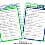 Father's Day Questionaire