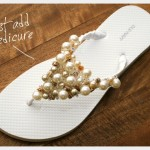 Beaded Ribbon Flip Flops Tutorial