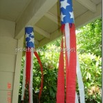 Red White and Blue Patriotic Kids Windsock