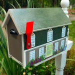 House Shaped Mailbox Tutorial