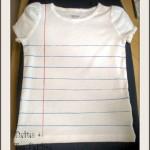 Notebook T-Shirt Tutorial