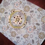 Fabric Book Cover Sewing Tutorial