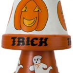 Painted Halloween Wind Chimes Patterns