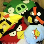 Angry Birds Family Costumes Patterns and Tutorial