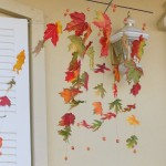 Fall Leaves Wind Catcher Craft