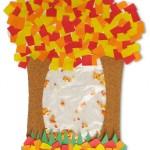 Falling Leaves Shaker Kids Craft