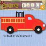 Fire Truck Free Cutting File