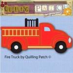 Fire Truck Free Cutting File