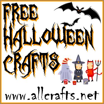 free halloween crafts Free Halloween Sewing Patterns