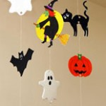 Halloween Mobile Kids Craft