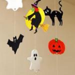 Halloween Mobile Kids Craft