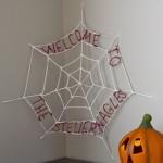Personalized Spiderweb Halloween Decoration Tutorial