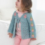 Super Sweet Toddler Cardigan Crochet Pattern