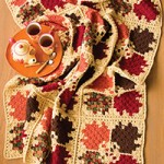 Autumn Leaves Crochet Afghan Pattern