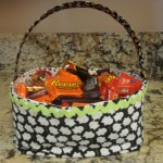 Trick or Treat Halloween Fabric Baskets