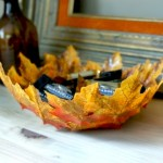 Autumn Leaf Bowl Tutorial