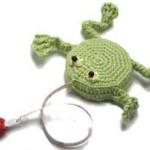 Measuring Tape Frog Crochet Pattern