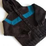 Toddler Hoodie Free Knitting Pattern