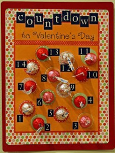 Circle Kisses Valentine Countdown