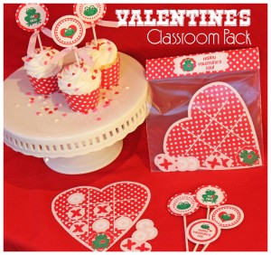 Printable Classroom Valentines Set