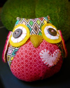 Chubby Owl Sewing Pattern