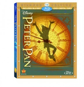 Peter Pan Diamond Edition DVD