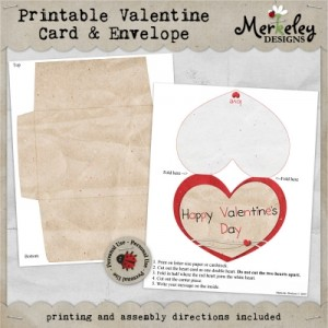 Easy Digiscrap Valentine