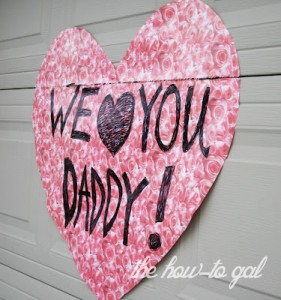 Garage Door Valentine