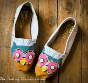 Owl Shoes Tutorial