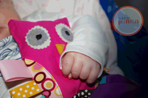 Owl Baby Teether tutorial