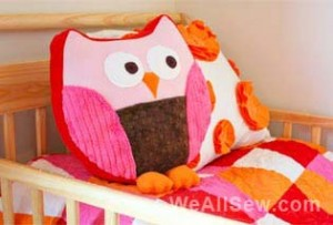 Snuggly Owl Sewing Pattern