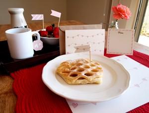 Valentine's Day Breakfast Printables