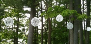 Wedding string globes tutorial