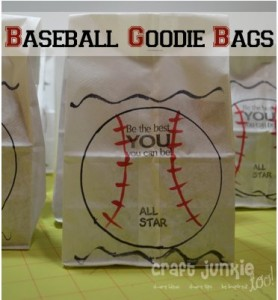 Baseball Goodie Bags