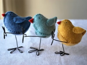 Blanket Stitch Chick Pattern