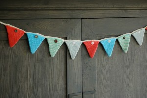 Christmas Crochet Advent Bunting Pattern
