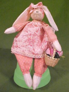 Easter Bunny Doll Tutorial