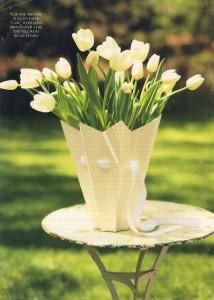 Paper Vase Tutorial