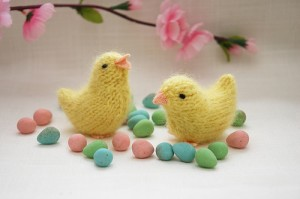 Spring Chick Knitting Pattern