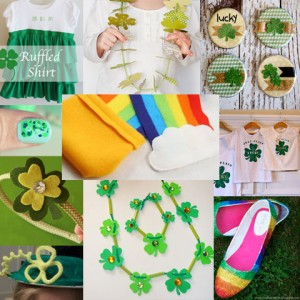 St. Patrick's Day Wearable Crafts