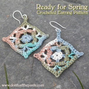 Spring Crocheted Earrings Allcrafts Free Crafts Update