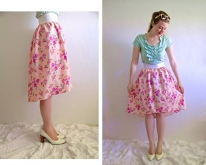 High-Low Skirt Sewing Tutorial