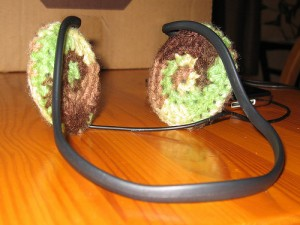 Oval Headphone Covers
