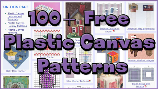 Free Plastic Canvas Patterns