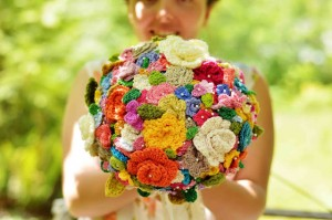 Crochet Wedding Bouquet