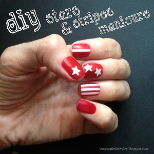 Stars and Stripes Manicure